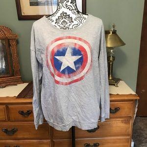 Mighty Fine Marvel Comic Sweatshirt